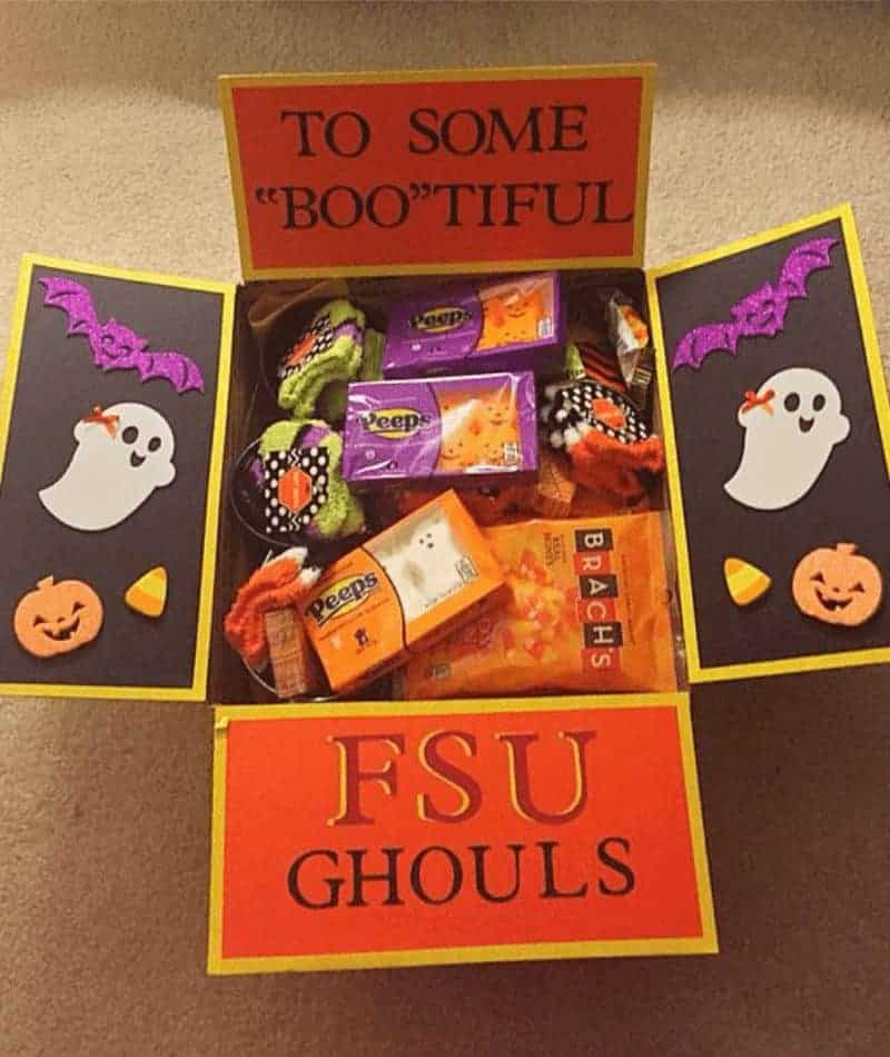 care packages for Halloween