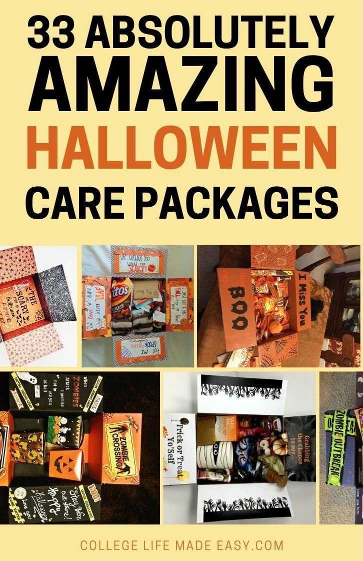 33 amazing Halloween care packages