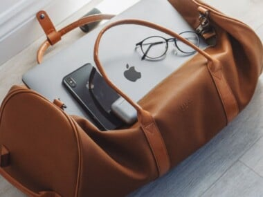 what to bring to college - duffel bag