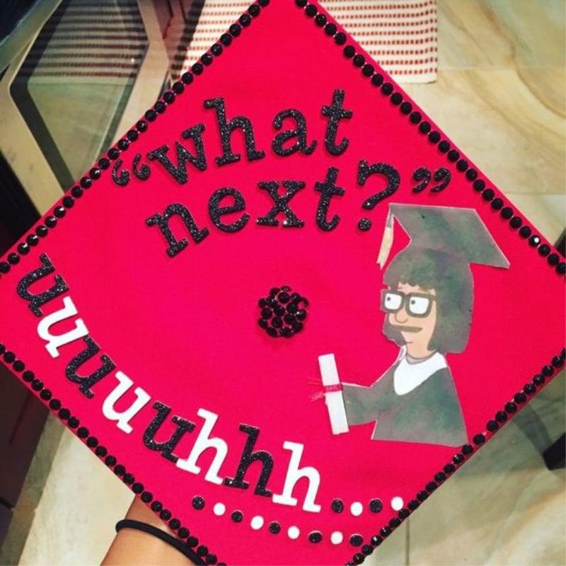 funny ideas for graduation caps - bob's burgers