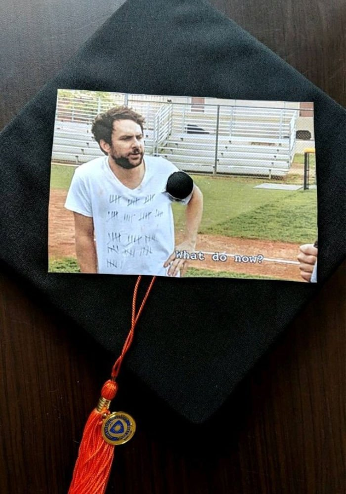 funny graduation quotes - charlie what do now
