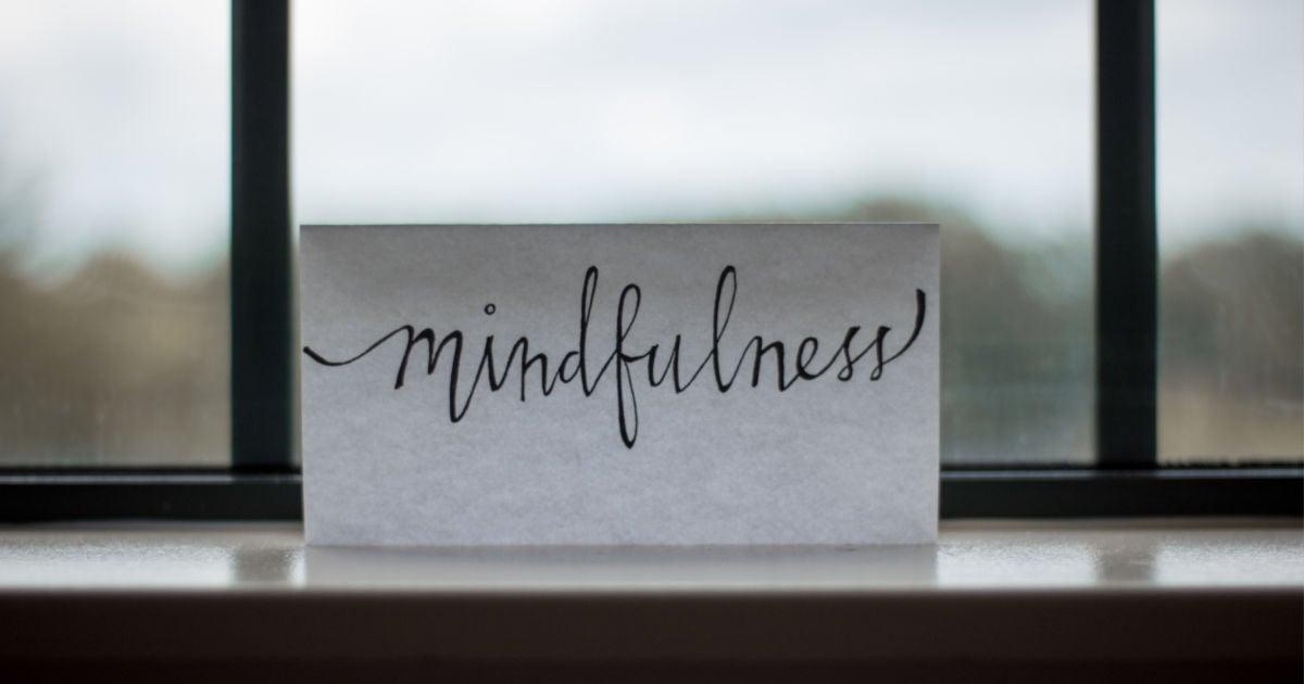 handling stress as a student - mindfulness
