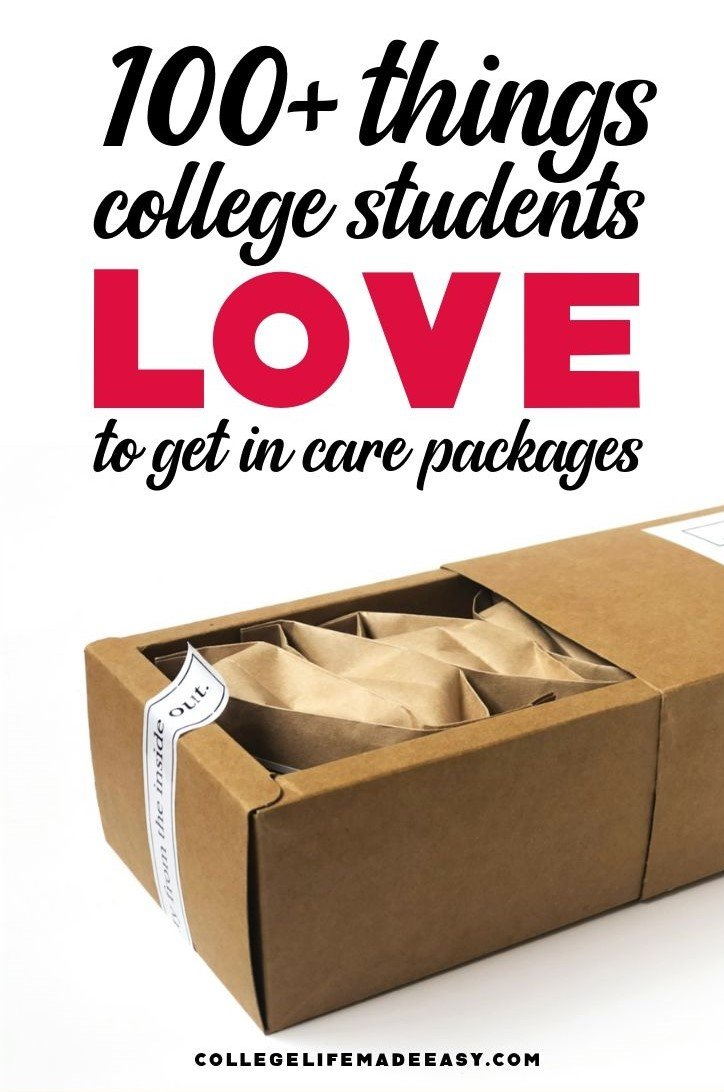 ideas for a college care package