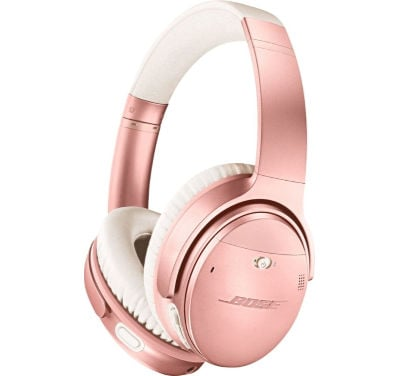 things every girl wants for Christmas - Bose Wireless Headphones in Rose Gold