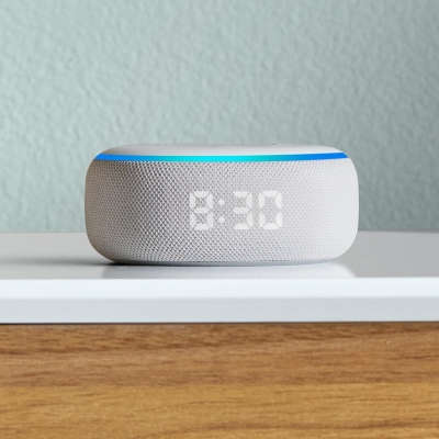 the amazon echo dot with an alarm clock is another best gift idea