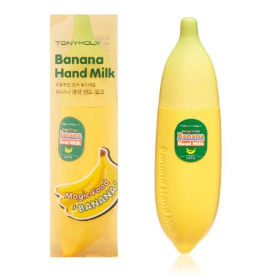 TONYMOLY Magic Food Banana Hand Milk stocking filler idea
