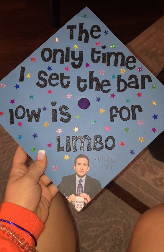 Michael Scott from The Office quote decorated cap