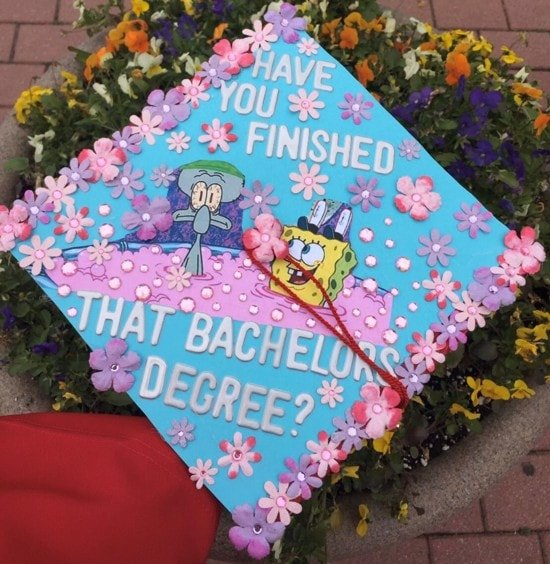have you finished with that bachelor's degree? cap decoration