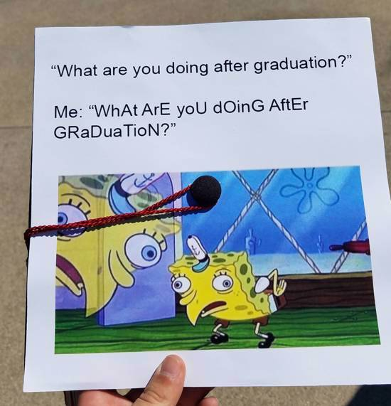 what are you doing after graduation decorated cap idea